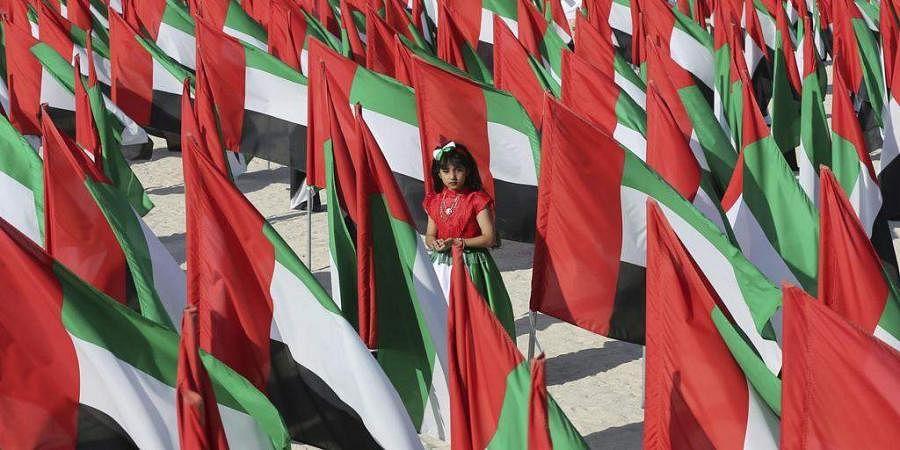 UAE flag. (Photo | AP)