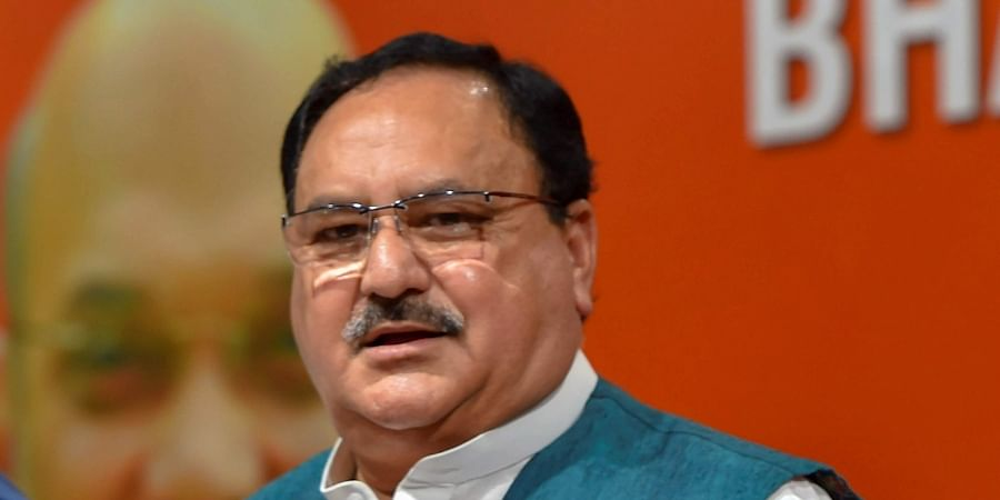 BJP working president J.P. Nadda