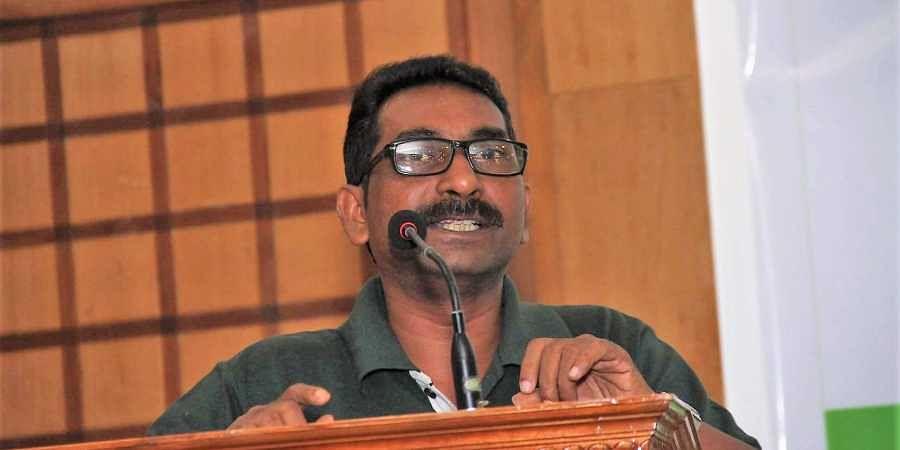 Activist Raghu Eraviperur