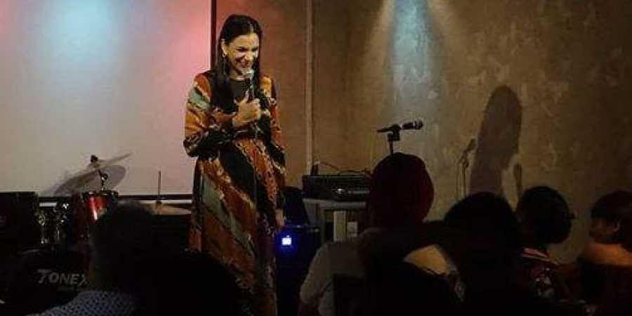 Indian-origin Singaporean stand-up artiste Sharul Channa