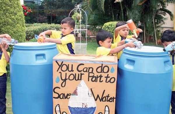 Bengaluru school teaches students to recharge borewells, RWH pits