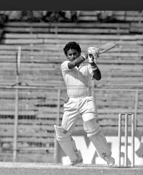 Popularly called VB, Chandrasekhar opened the batting for the Indian team in seven ODIs from 1988-90. He tallied 88 runs with a highest score of 53.