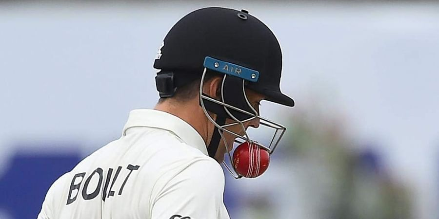 The 30-year-old scored 18 runs as New Zealand were bundled out for 249 in their first innings.