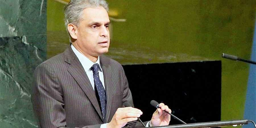 Syed Akbaruddin, India's permanent representative at the UN