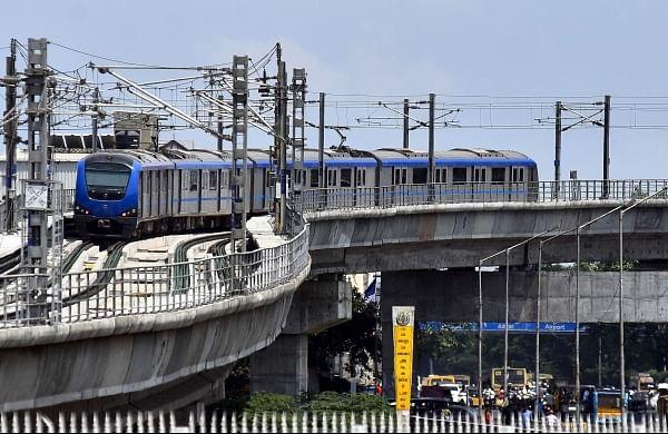Server glitch:Chennai Metro Rail provides free rides to passengers