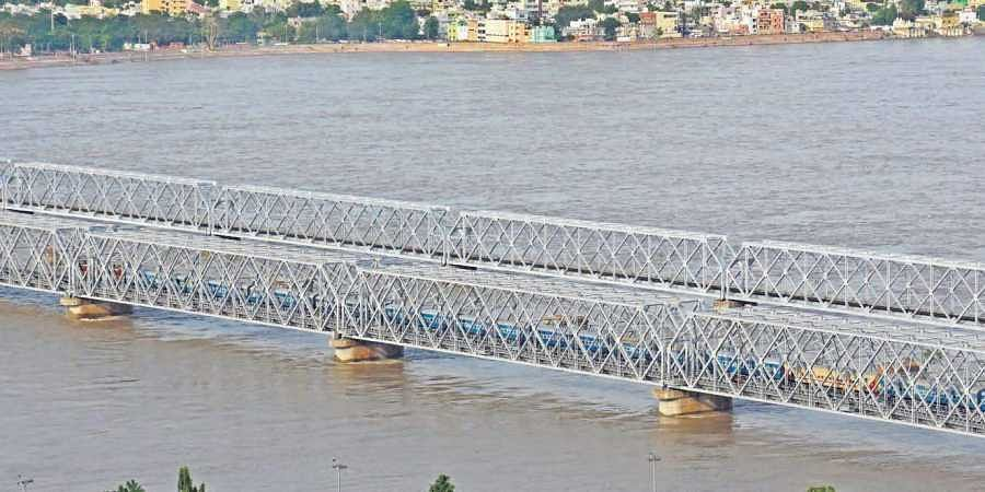 This is the first time in a decade such heavy flood was witnessed in the river Krishna, leading to lifting of 72 gates of the Prakasam Barrage.