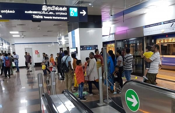 Chennai Metro Rail travel free for over 2 hours due to glitch