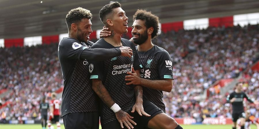 Liverpool beats Southampton 2-1 for second win to open EPL