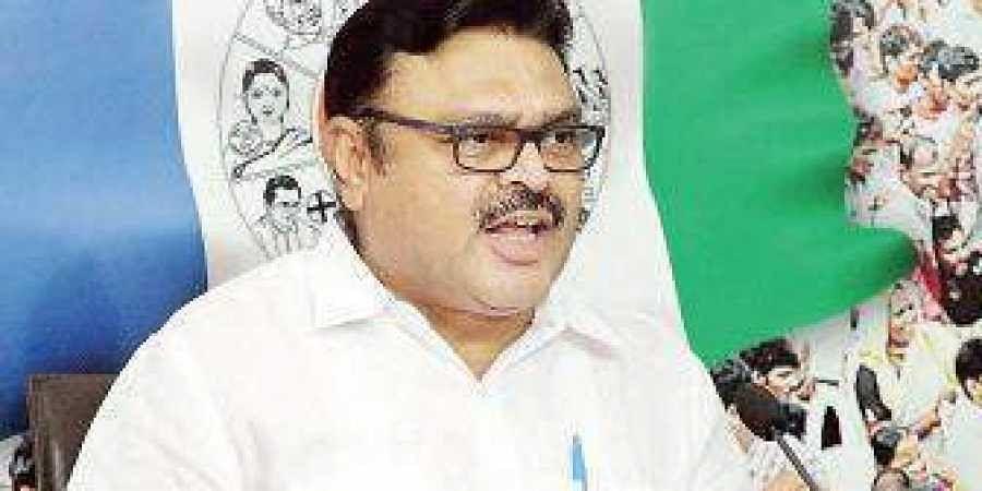 YSR Congress' spokesperson Ambati Rambabu