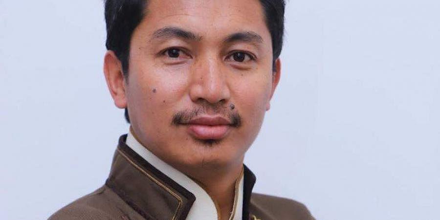 Jamyang Tsering Namgyal, the BJP MP from Ladakh.