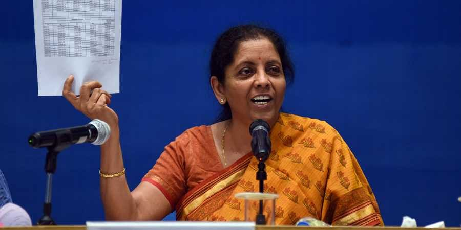 Defence Minister Nirmala Sitharaman press conference on the achievements of Ministry of Defence in New Dehli