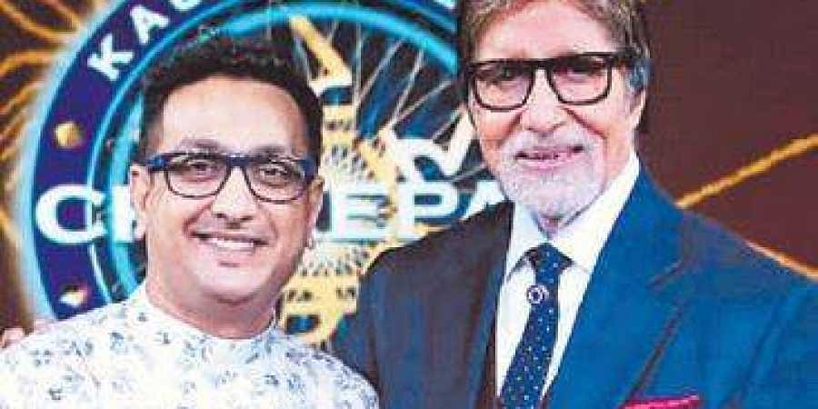 Arun Sheshkumar with Big B