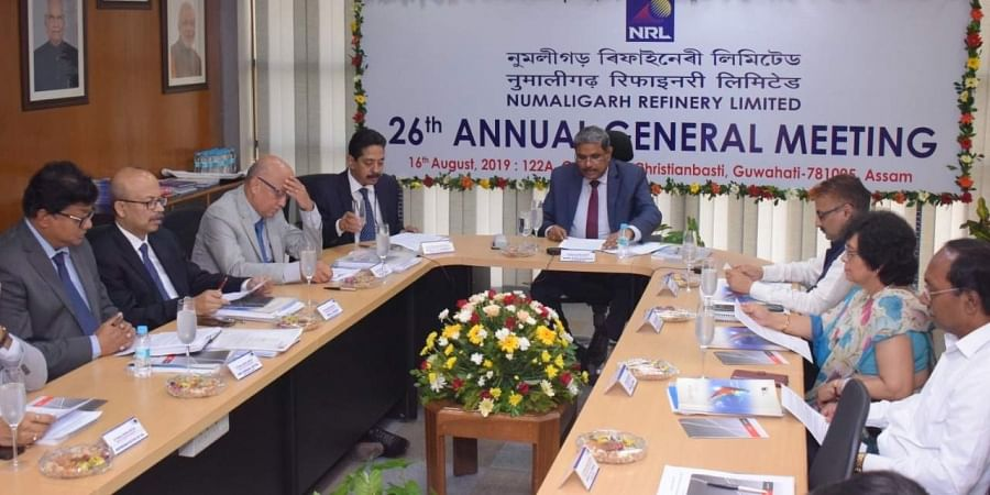 The 26th AGM of Numaligarh Refinery is held and chaired by BPCl C&MD D Rajkumar