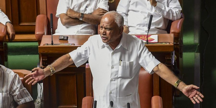 Chief Minister BS Yediyurappa