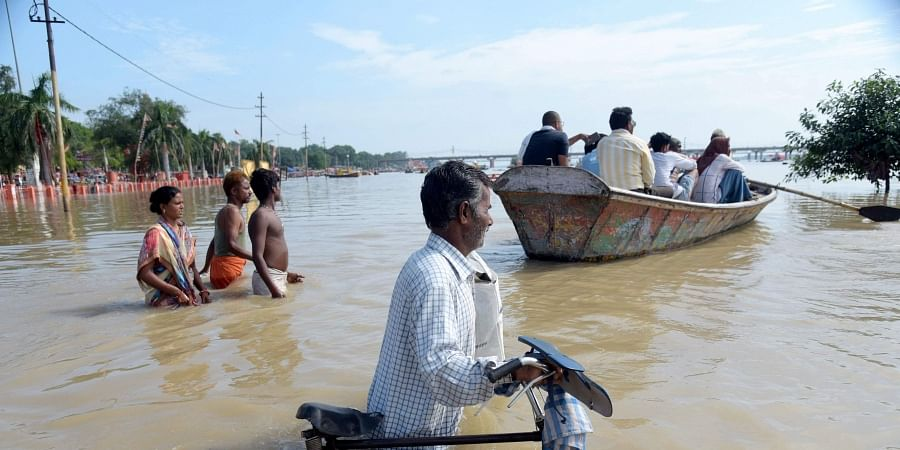 North India rains: Rivers in UP, including Ganga and Yamuna flow above danger mark