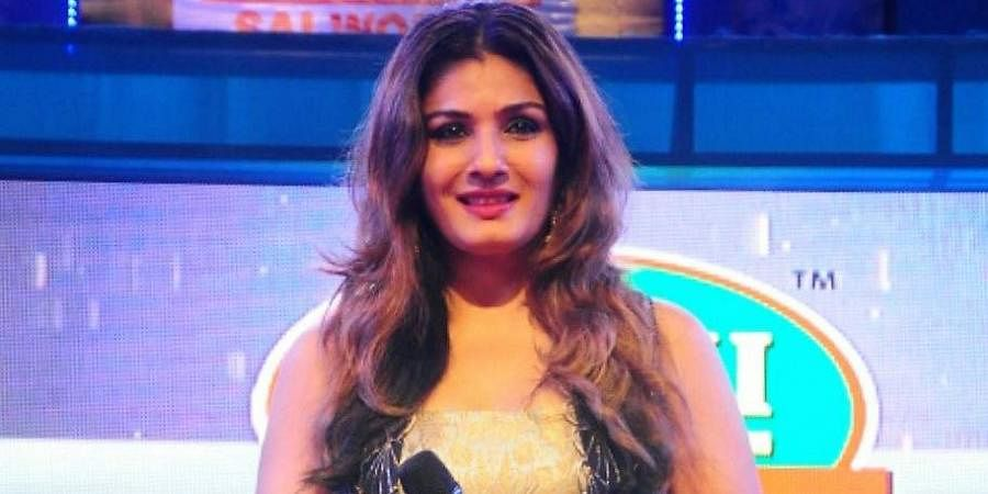 Bollywood actress Raveena Tandon
