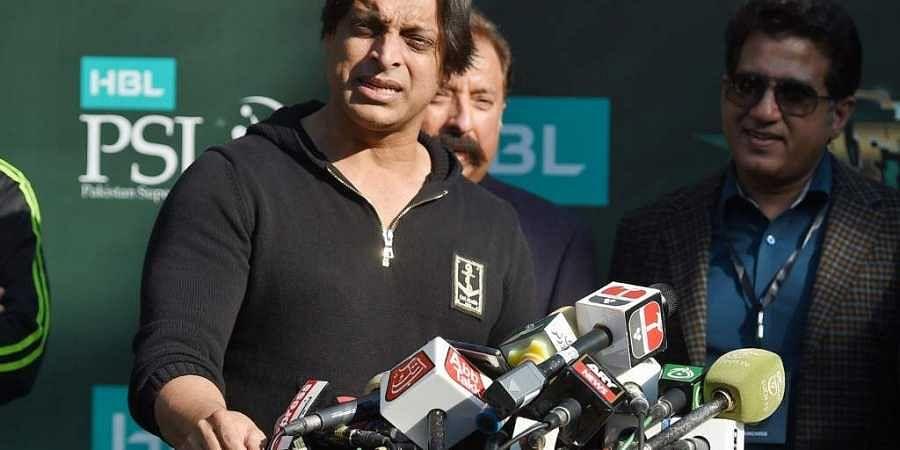 Former Pakistani cricketer Shoaib Akhtar. (Photo   AFP)