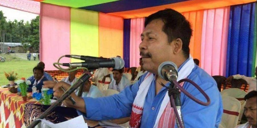 Assam's Kokrajhar MP, Naba Kumar Sarania