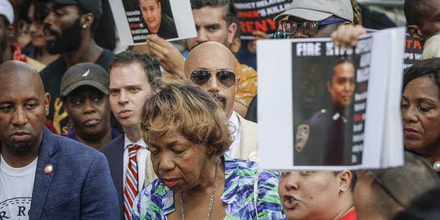 Mother of victim Eric Garner who was killed by NYPD Cop in 2014.