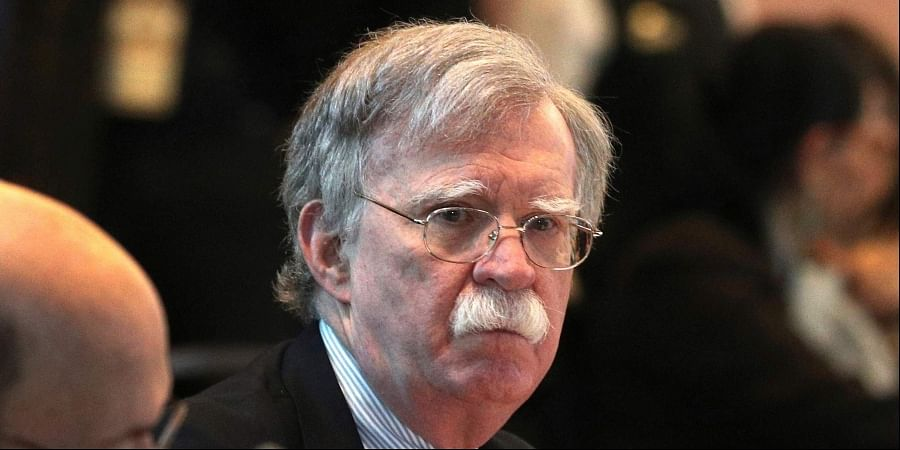 US President Donald Trump's national security advisor John Bolton