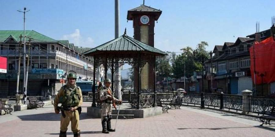 Srinagar's Lal Chowk