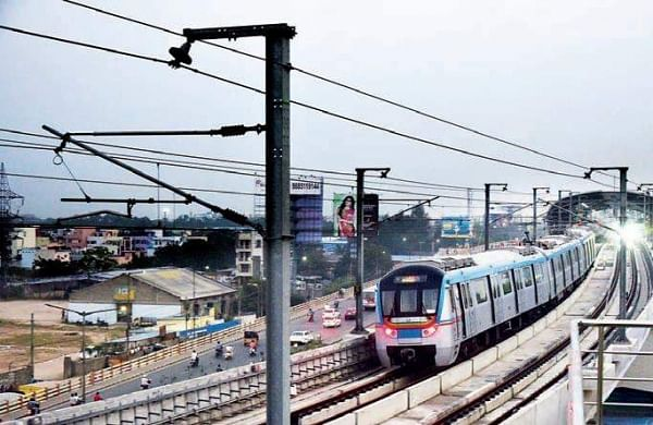 Hyderabad Metro increases frequency on Hitec City route