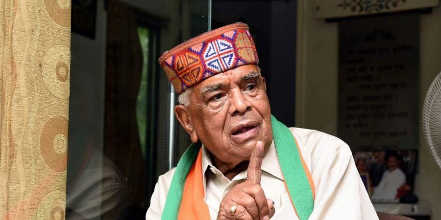 Former Madhya Pradesh Chief Minister Babulal Gaur