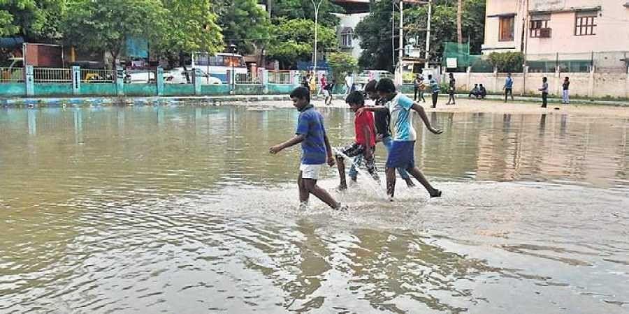 Rains, Football, Floods