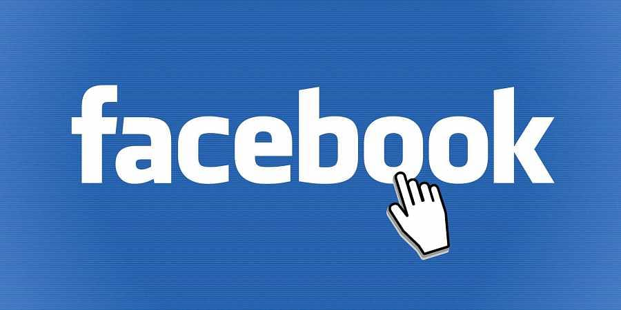 Facebook logo used for representation