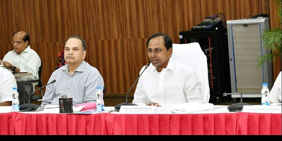 Telangana CM and TRS chief K Chandrashekhar Rao