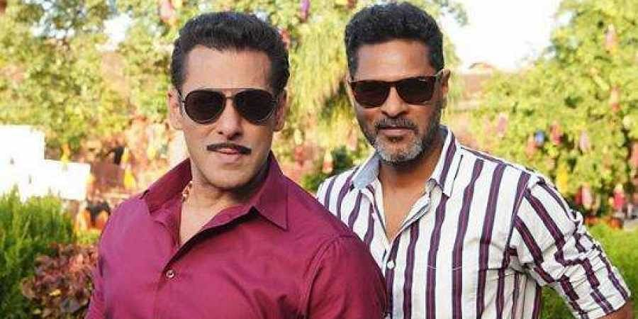 Salman Khan shared a picture with Prabhudheva, who is taking over directing duties from Arbaaz Khan.