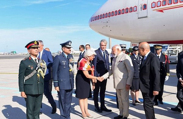 PM Narendra Modi arrives in France on first leg of three-nation trip