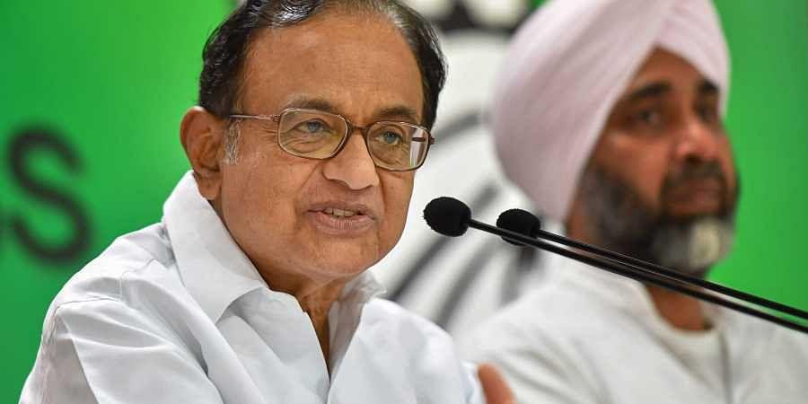 Former Finance Minister P Chidambaram.