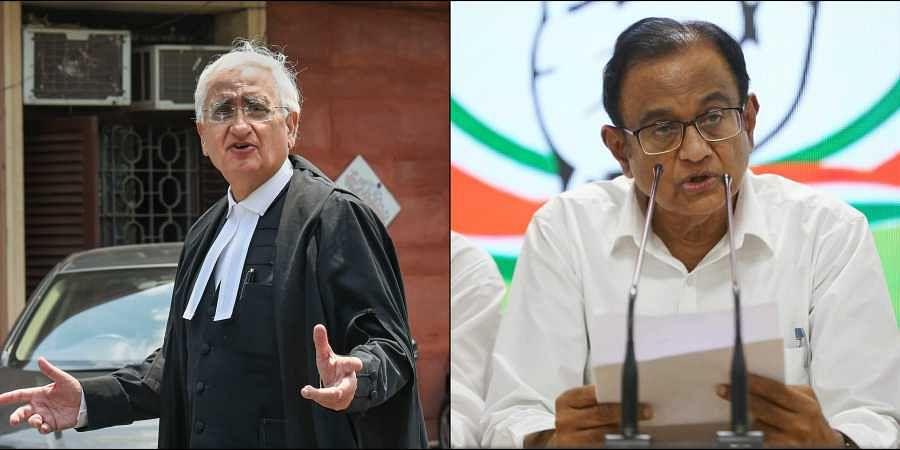 Salman Khurshid, Chidambaram, INX media case