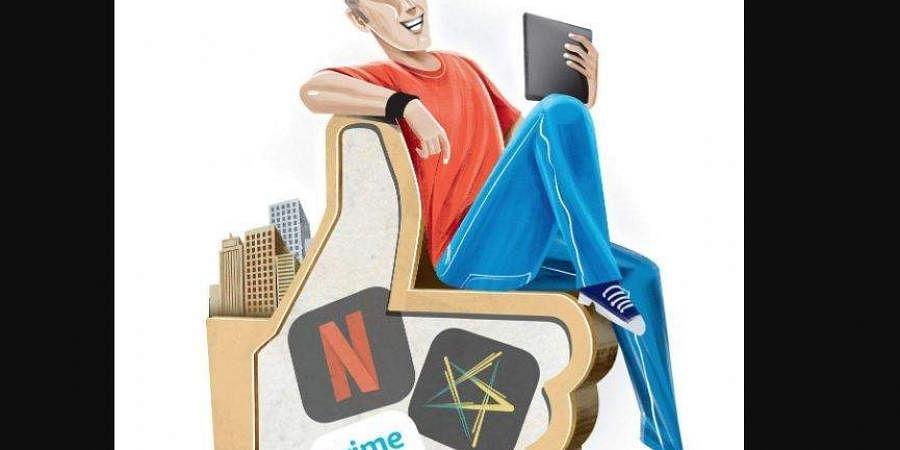 Amazxon Prime, Netflix, Eros Now, HotStar, OTT services