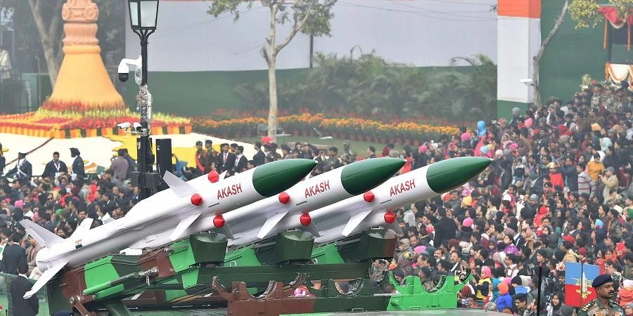 Surface-to-air missile defense system developed by the DRDO and produced by Bharat Dynamics Limited.