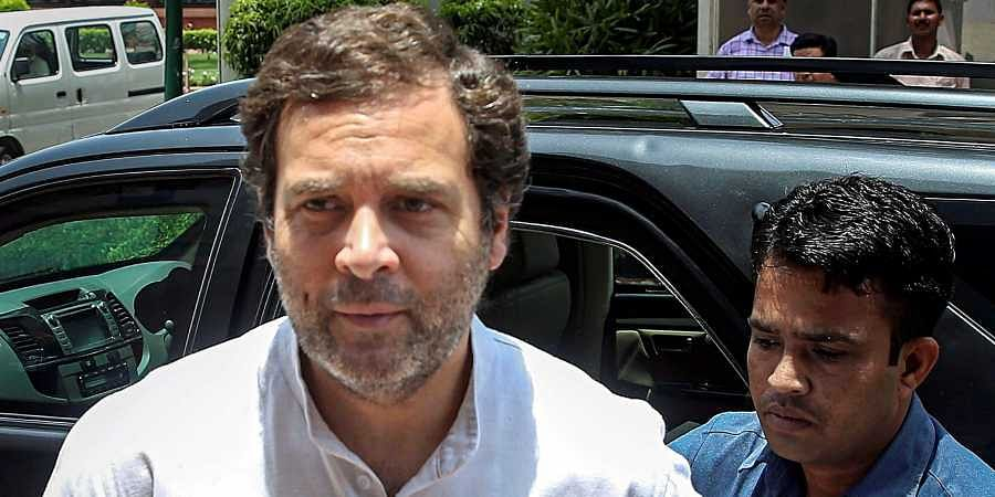 Former Congress chief Rahul Gandhi