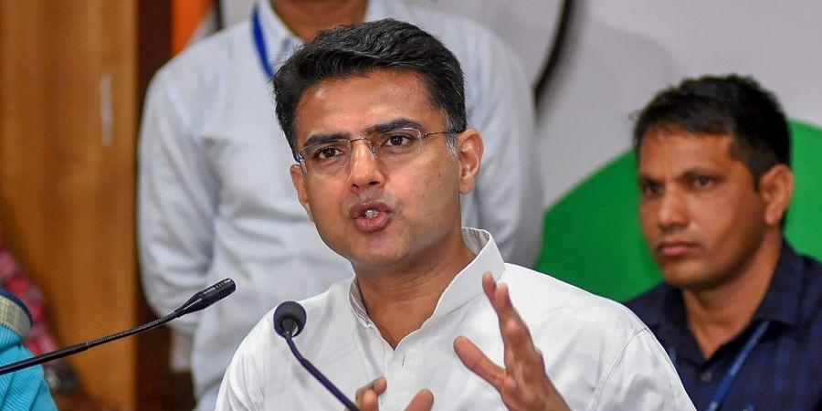 Rajasthan Deputy Chief Minister Sachin Pilot