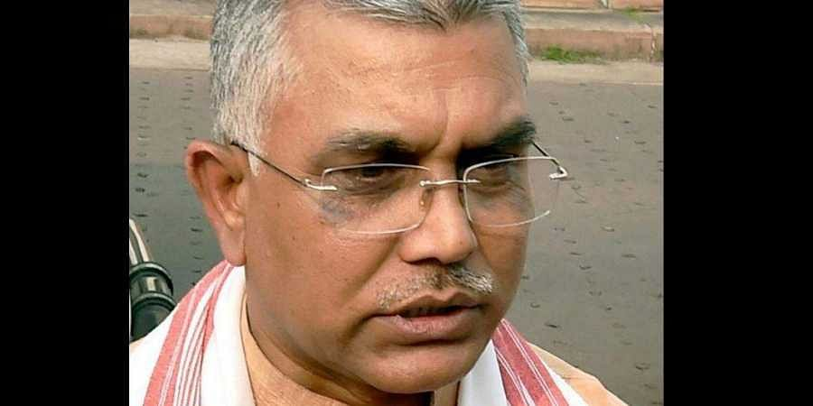 West Bengal BJP chief Dilip Ghosh (Photo | PTI)