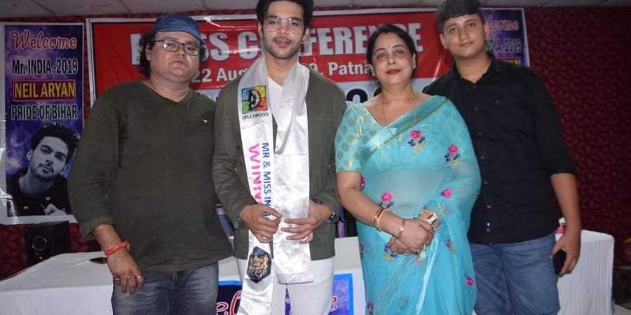 'Mr India 2019' title winner Neil Aryan. (Photo | Special Arrangement)