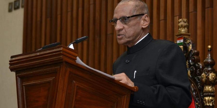 Andhra governor, ESL Narasimhan