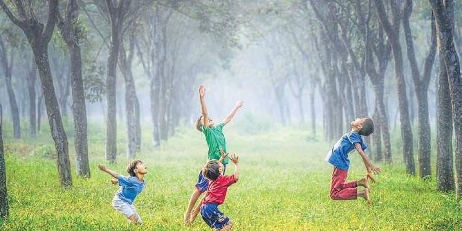 children, children playing
