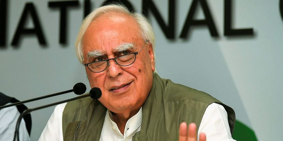 Senior Congress leader Kapil Sibal