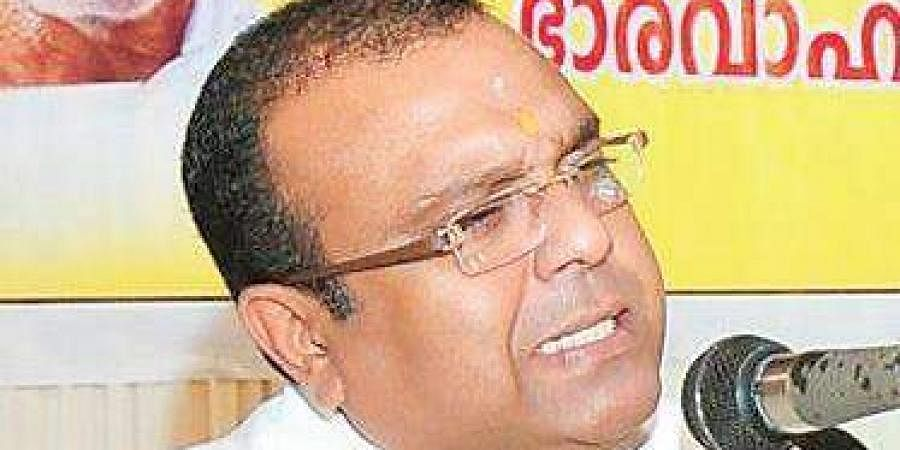 BDJSpresident Thushar Vellappally