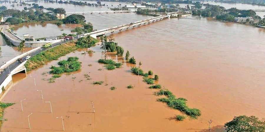 Tungabhadra and Krishna rivers