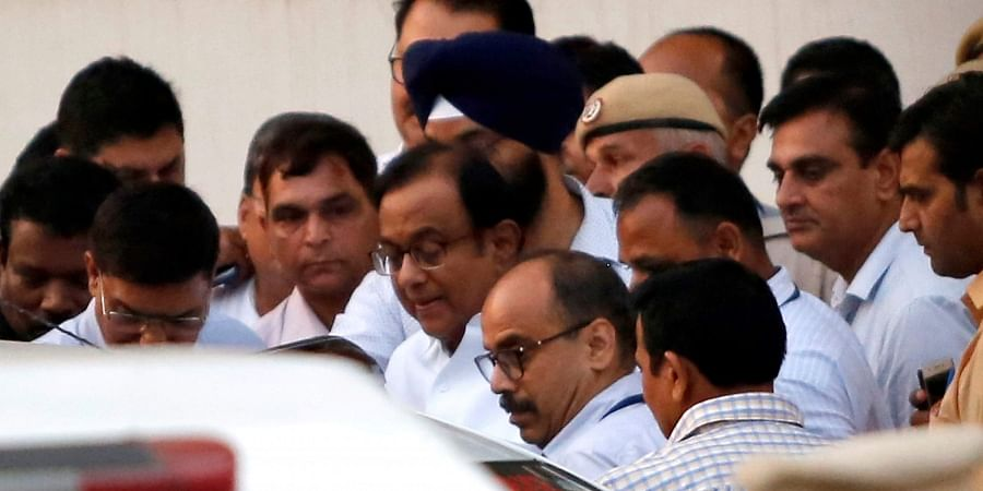 Special CBI court sends Congress leader and former Union minister P Chidambaram to CBI costudy till 26 August.