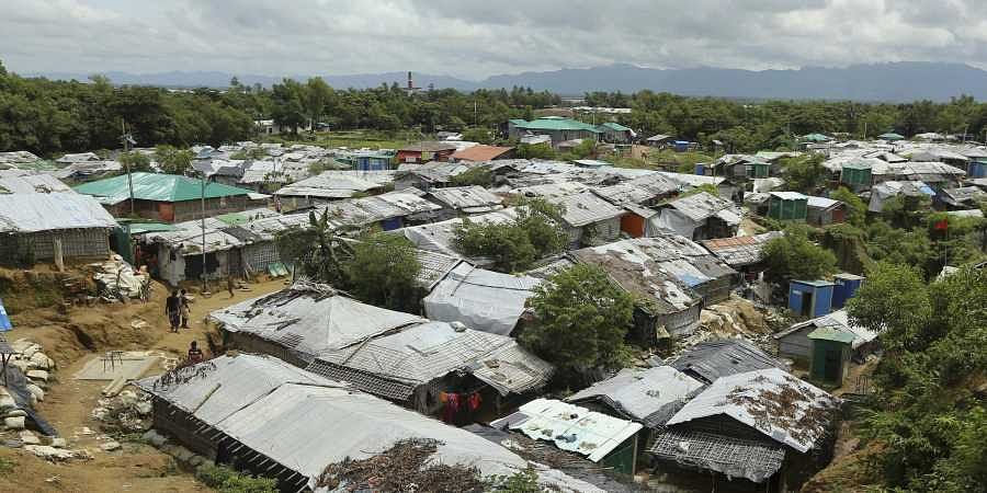 In this file photo dated Thursday, Aug.22, 2019, a general view of Nayapara Rohingya refugee camp in Cox's Bazar, Bangladesh. Sexual violence carried out by Myanmar's security forces against the country's Muslim Rohingya minority was so widespread and severe that it demonstrates intent to commit genocide as well as warrants prosecution for war crimes and crimes against humanity, according to a U.N. report released last week.