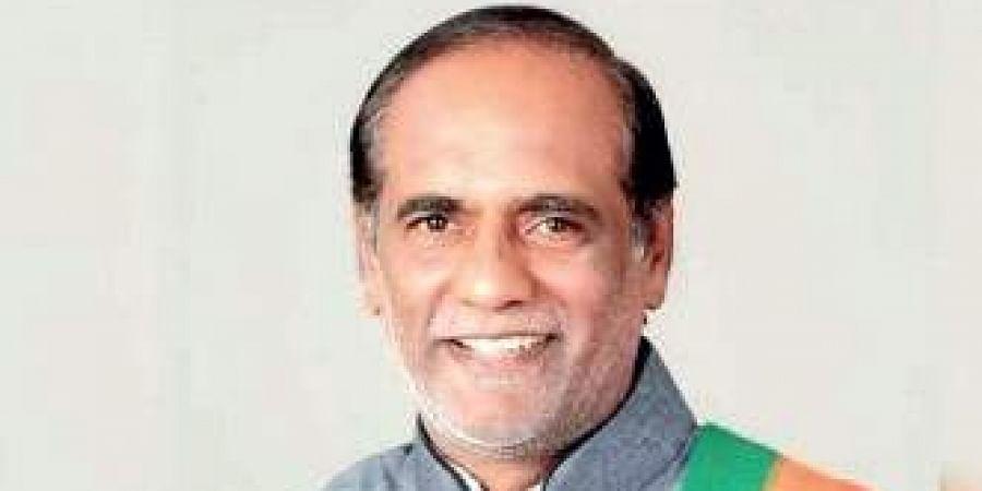 Telangana BJP president K Laxman