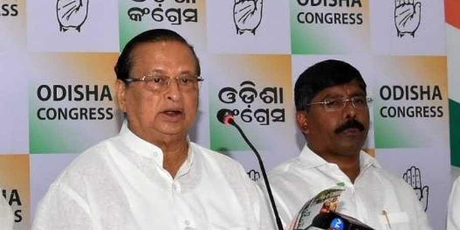 Odisha CongressFormer Congress President Niranjan Patnaik