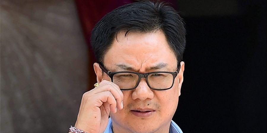 Sports MinisterKiren Rijiju (Photo   PTI)